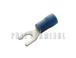PVC绝缘锁式端子(加铜套)