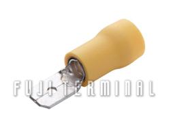 PVC绝缘公插端子(加铜套)