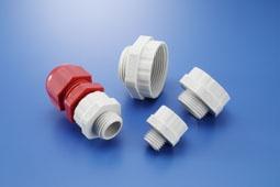 KSS 电缆固定头转接头(公制牙-小转大)