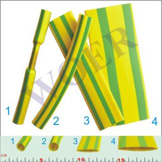 RSFR-(2X,3X)YG-黄绿热缩管