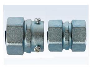 锌制防水型卡套式 自固式接头 (ZGSP型/ZGSK型)